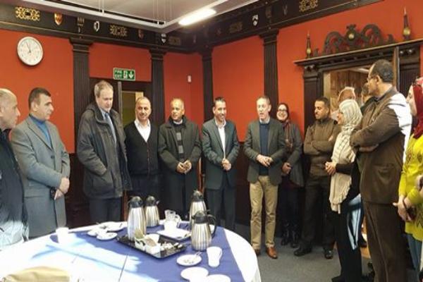 """""""القدس المفتوحة"""" تشارك في زيارة علمية لكانتربري في بريطانيا"""
