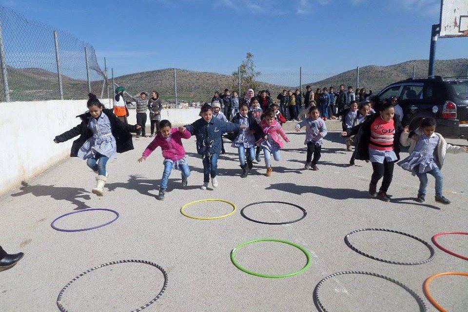 تدريس الضرب بواسطة الألعاب التربوية لطلبة الصف الرابع في مدرسة بنات رقعة الأساسية