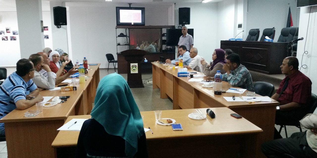 القدس المفتوحة وفريق المتابعة والتقييم لمشروع تحسين إعداد وتأهيل المعلمين (1-4) في وزارة التربية والتعليم العالي يعقدان لقاء تقييمياً